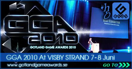 Gotland Game Awards 2010 webpage